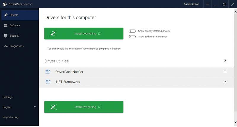 Download DriverPack Solution 17.7.58.2 - Tự động cập nhật Driver cho máy tính mới nhất 2017